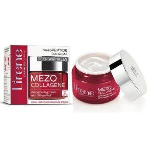 LIRENE Συσφικτική κρέμα ήμερας MEZO- COLLAGEN για ηλικίες 50+ 50ML