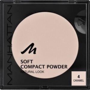 MANHATTAN SOFT COMPACT POWDER No.4 CARAMEL