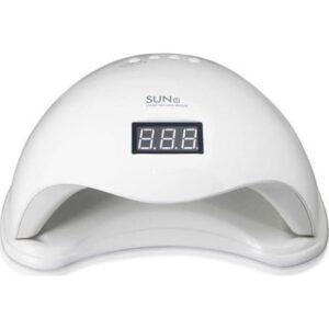 Το επαγγελματικό φουρνάκι νυχιών Sun 5 περιέχει 24 led και παρέχει μέγιστη απόδοση για καλύτερο πολυμερισμό.