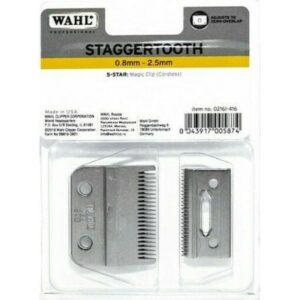 Μοντέλο: 2161 – 400. Μήκος Κοπής: 0,8 – 2,5mm. Πλάτος Κοπής: 40mm. Κατάλληλο για: Wahl Magic clip Cordless.